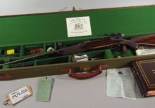 Perfect replica of John Rigby bolt action rifle