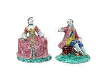 Delft Figures Up for Auction