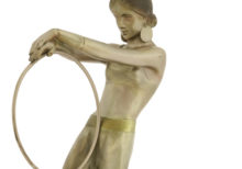Josef Lorenzl Art Deco figure at auction