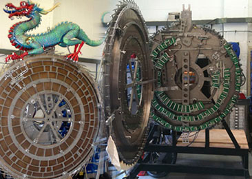 Chinese Dragon Clock