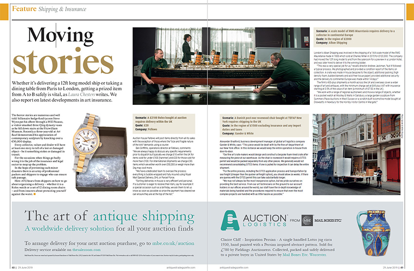 Antiques Trade Gazette june 2019 issue