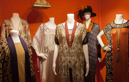 Part of the Fashion and Textile exhibition