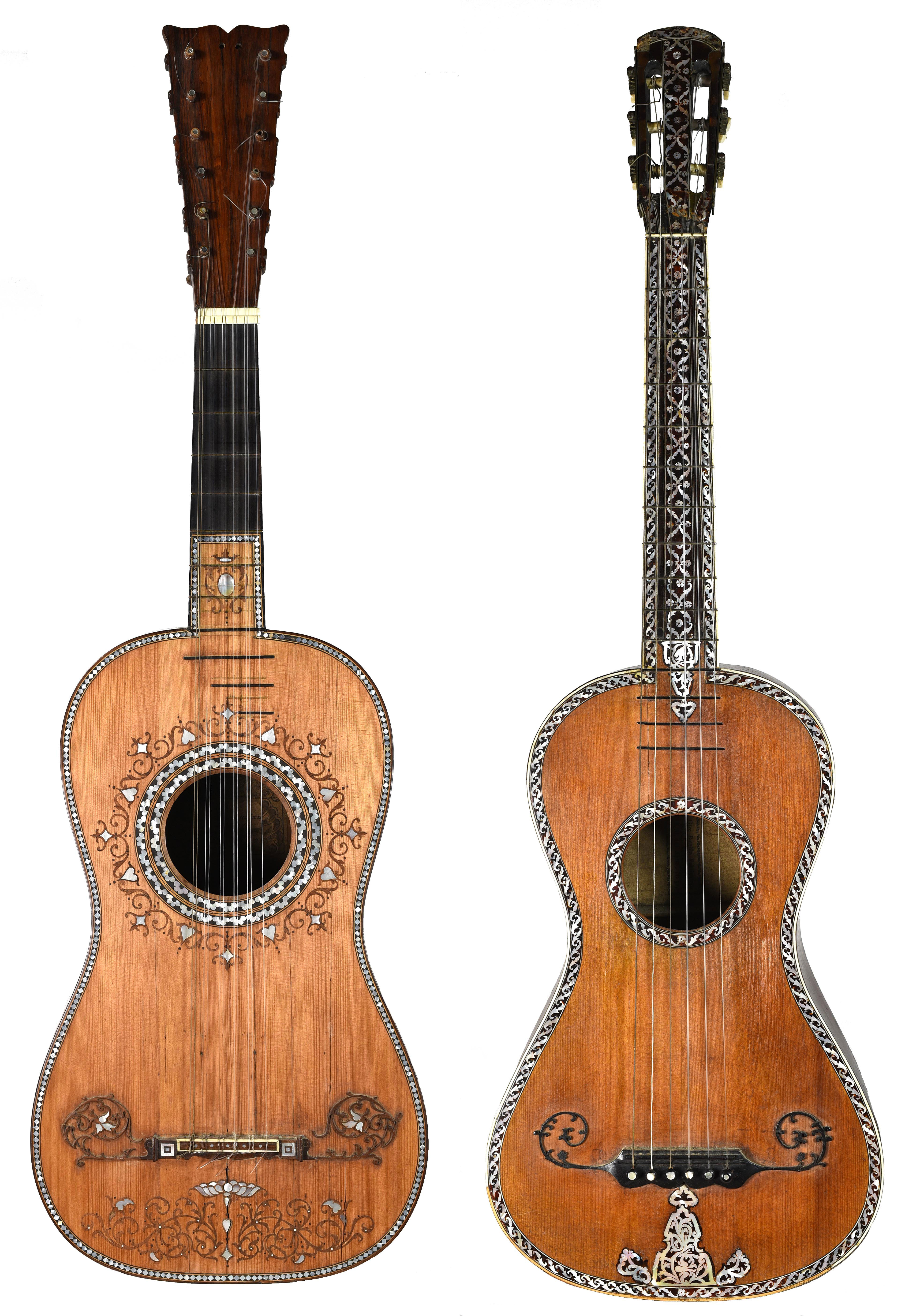 Guitars from the Harvey Hope collection